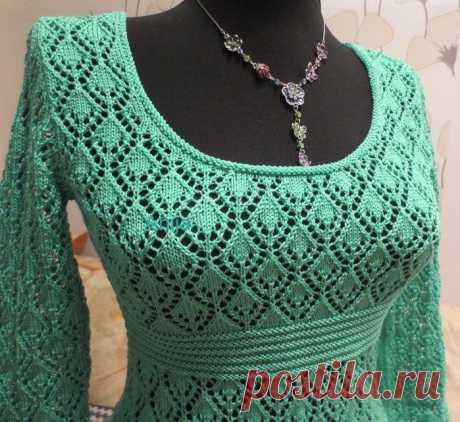 Красивый узор для платья — DIYIdeas