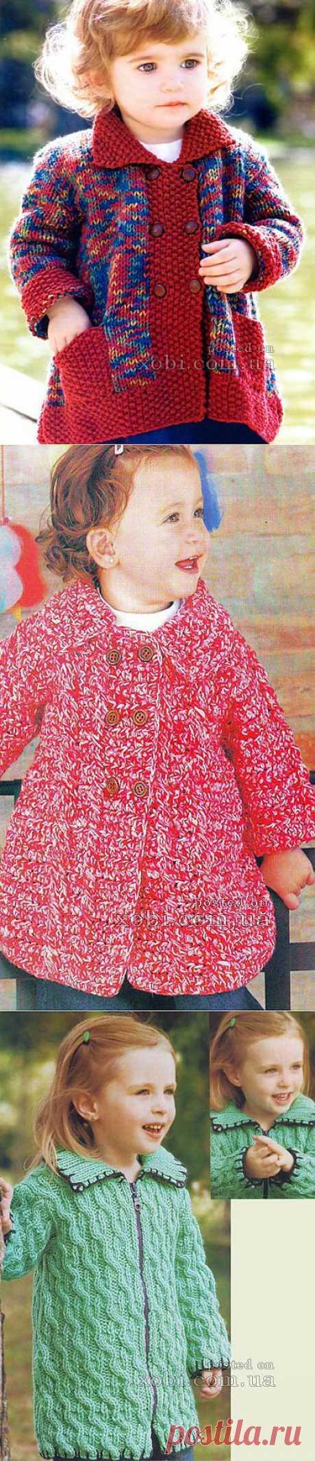 Вязание для детей. Пальто и курточки
