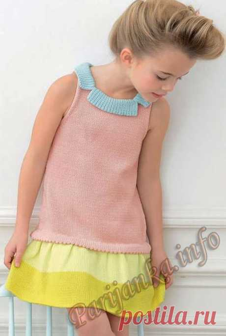 Платье (д) 01*106 Phildar №4080.