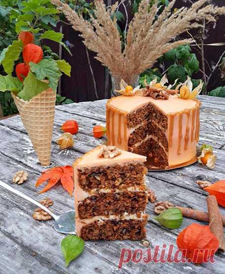 Морковный торт со сметанным кремом: самый вкусный рецепт пошагово с фото Сегодня я приглашаю вас довериться мне и приготовить очень модный нынче морковный торт со сметанным кремом. Некоторые словосочетания тебя начинают преследовать.
