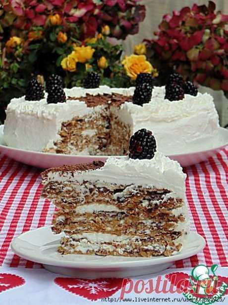 """Итальянский торт """"Грецкий орешек"""" - роскошный ореховый торт"""