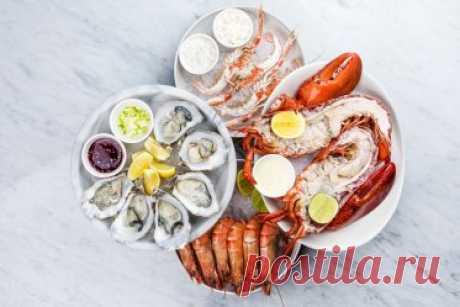 12 полезнейших морепродуктов для здоровья человека