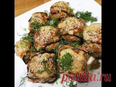 БАКЛАЖАНЫ ГЕНИАЛЬНЫЕ // Будете готовить часто!!! Вкусные баклажаны