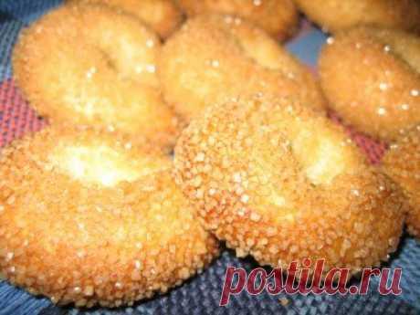 Итальянское сахарное печенье - Печенье