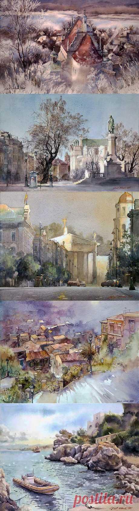 (+1) - Акварели Майкла Орловского | Искусство
