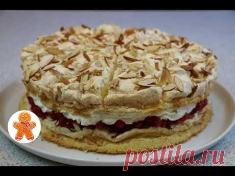 "La torta ""Небесный"" fácil, aéreo y muy sabroso ✧ Himmelstorte ✧ Heaven Cake (English Subtitles)"