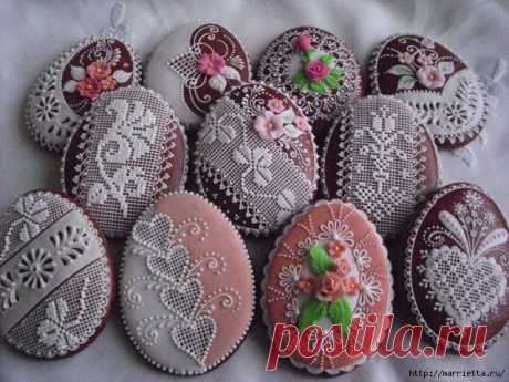 Easter gingerbreads. Beauty) and master class in a list