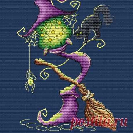 Ведьмин фонарь ночь | SA-stitch