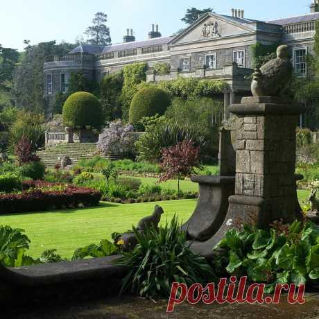 Mount Congreve Gardens (Ирландия, графство Уотерфорд, Kilmeaden).