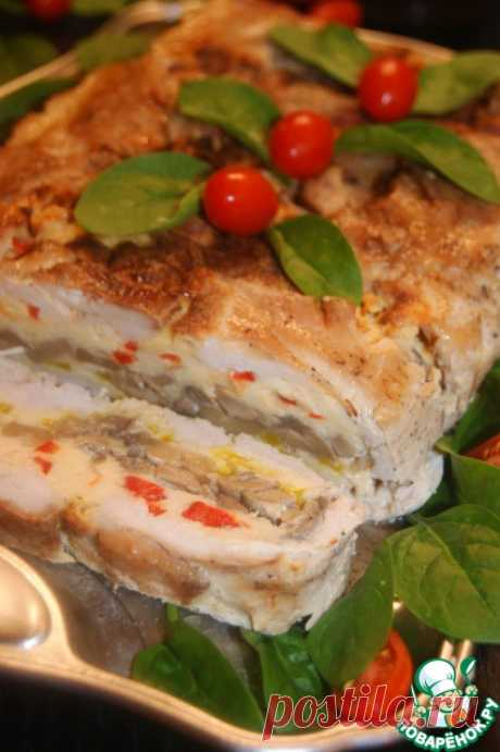 """Куриный """"пирог"""" без теста - кулинарный рецепт"""