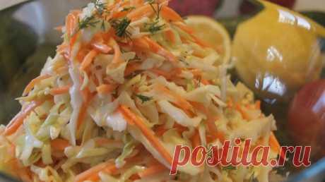"""Салат """"Коул Слоу"""". Самый Вкусный Капустный салат - Простые рецепты Овкусе.ру"""