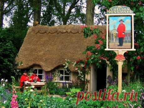 Сказочные домики английской провинции — Путешествия