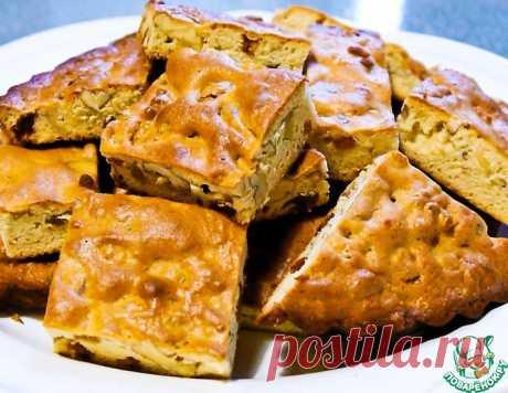 Пирог из сахарного теста с орехами – кулинарный рецепт