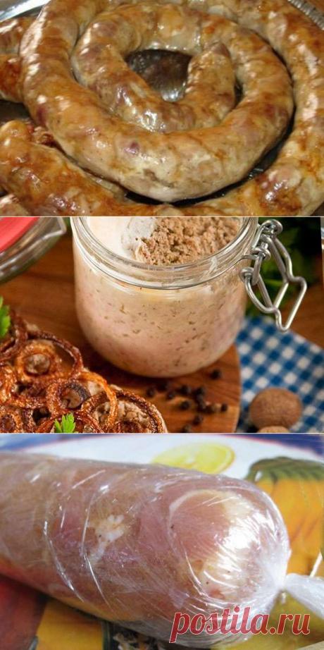 Готовим домашнюю колбасу в банке, бутылке, фольге и в пищевой пленке