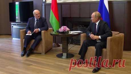 Эксперты считают, что Путин унизительно поставил Лукашенко на место и пренебрежительно усадил в позу просителя Состоялась встреча двух глав государств.