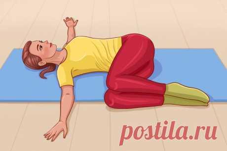 10 упражнений на растяжку, которые помогут расслабить спину