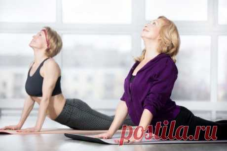Комплекс упражнений на каждый день.Женщинам за 40 обязательно!
