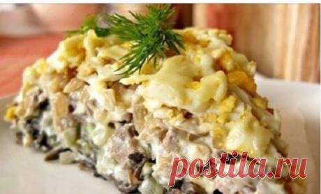 Фирменный рецепт минского ресторана — салат «Орландо»! Оригинальный рецепт минского ресторана. Порадуйте близких вкусным салатом!
