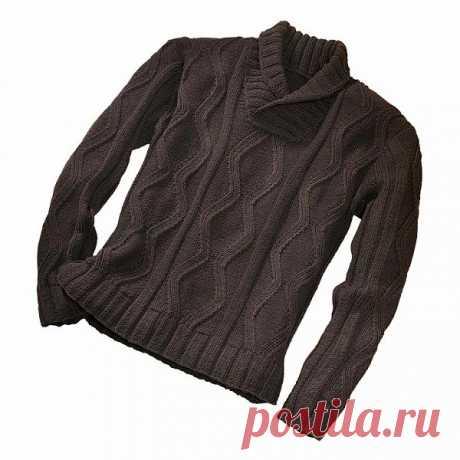 Пуловер. Отличная модель!