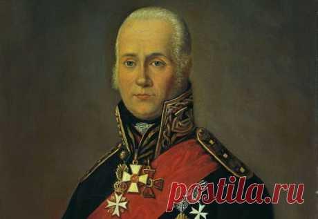 Ф. Ф. Ушаков - русский адмирал, не потерпевший ни.одного поражения (на портрете хорошо виден Георгиевский крест второй степени)
