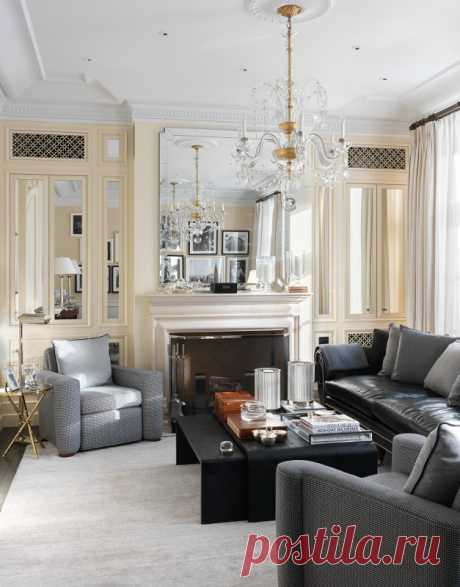 Проект дома в классическом стиле — Lodgers - Дизайн интерьера