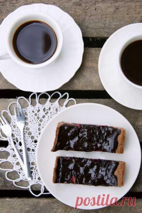 "Пирог ""Слива в шоколаде"" | Lendryggen"