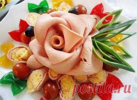 Идеи для оформления праздничных нарезок и закусок