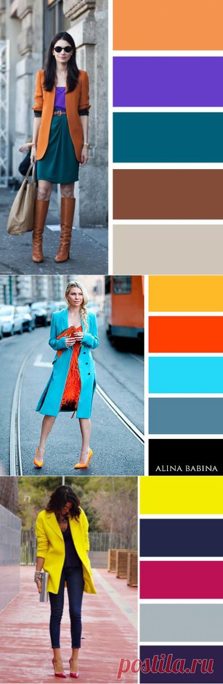 Популярные и яркие цветовые сочетания! — Модно / Nemodno
