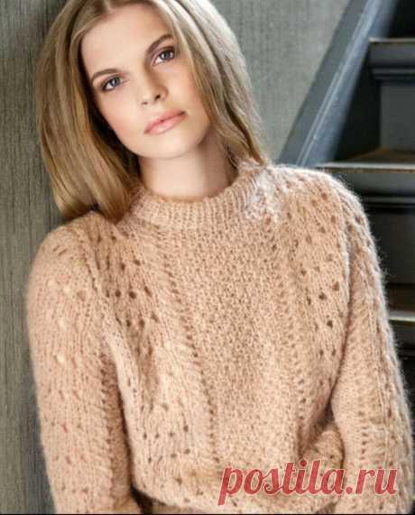 Подборка моделей от 22 апреля. Описания и схемы. Модели спицами. | knitting_in_trendd | Яндекс Дзен