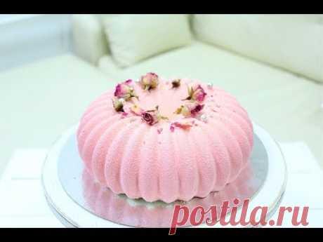 Mussovyy la TORTA DE GRANADA \/ MOUSSE POMEGRANATE CAKE
