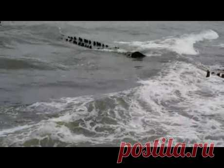 Шум морских волн - YouTube