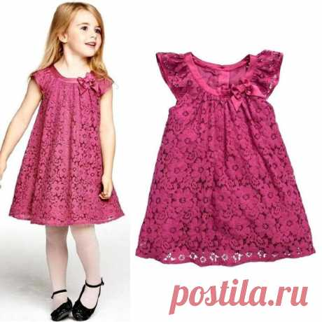Платье для девочки от 1 до 14 лет. Выкройки (Шитье и крой) – Журнал Вдохновение Рукодельницы