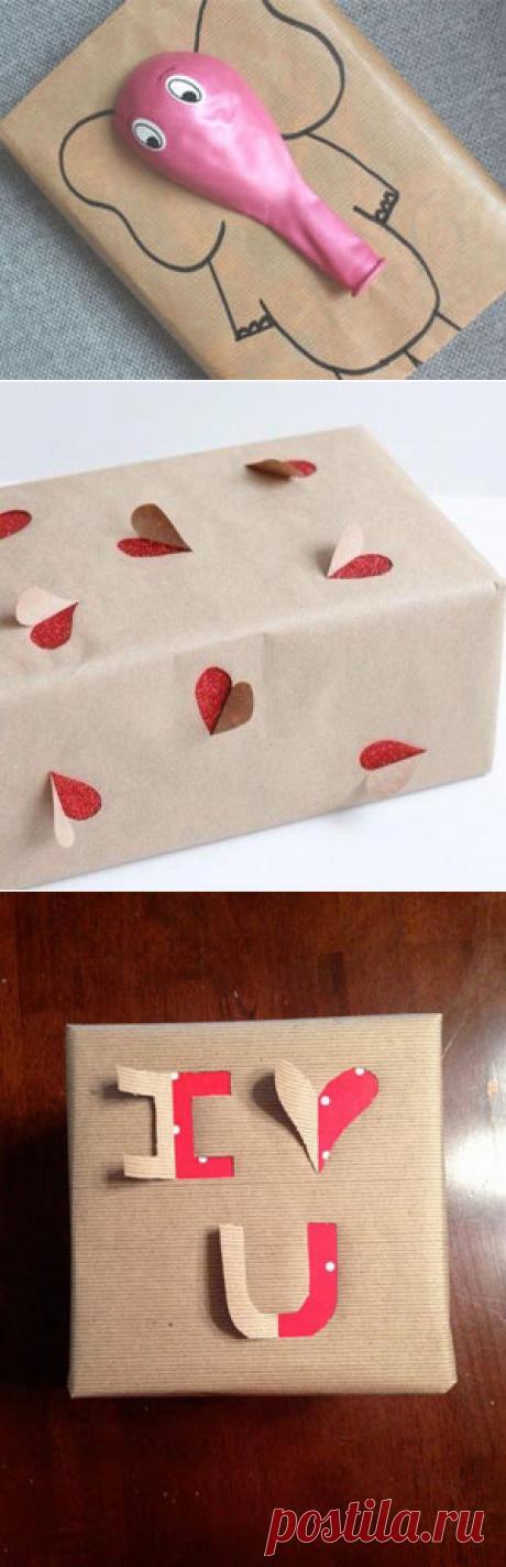 50 интересных идей для красивой упаковки, или Встречаем по одёжке