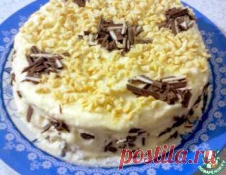 """Низкокалорийный торт """"Наполеон"""" на ряженке в мультиварке – кулинарный рецепт"""