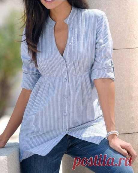 Выкройка блузы с защипами (Шитье и крой) – Журнал Вдохновение Рукодельницы