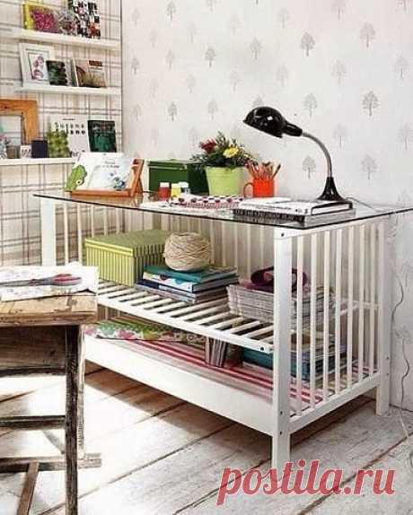 Преображение старой детской кроватки: идеи — DIYIdeas