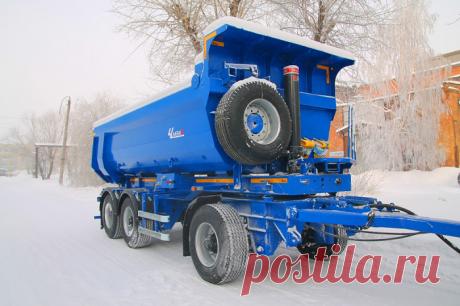 ПАО «Уралавтоприцеп» выпустило 2 новых модели — СпецТехноТранс