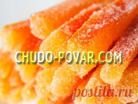 Цукаты из тыквы - рецепт с фото | Чудо-Повар