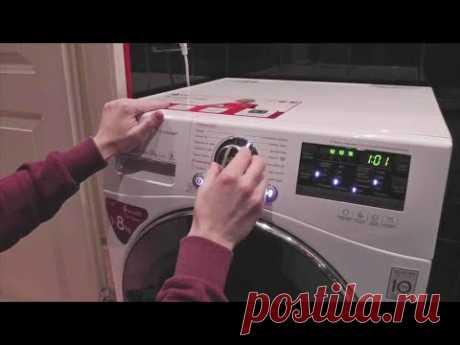 Стиральная машина LG F14A8TDS Обзор