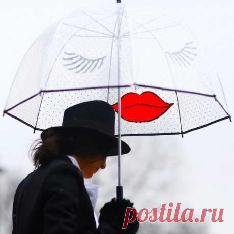 Bajo tal paraguas ninguna lluvia no es terrible:)