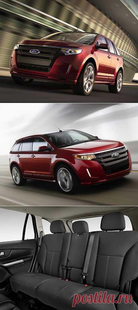 Мне по душе американские авто - 2013 Ford Edge -  вот пример лаконичности, Почему до сих пор не продается в России?