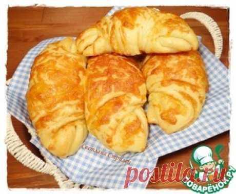 Сырные круассаны - кулинарный рецепт