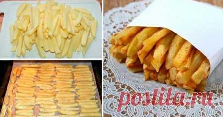 Домашний картофель фри: побалуйте близких вкусным блюдом - Вкусные рецепты - медиаплатформа МирТесен