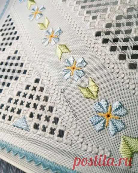 Хардангер: 7 примеров кружевной вышивки, получившей свое название в честь фьорда в Норвегии | MIAZAR | Яндекс Дзен