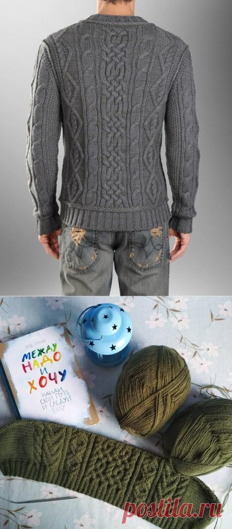 Вязание аранов: подборка моделей, советы по выбору узора и схемы вязания (105 фото)