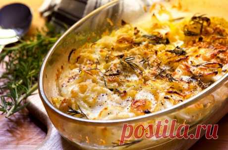 Картошка по-французски: делаем картофель как пирог - Steak Lovers - медиаплатформа МирТесен