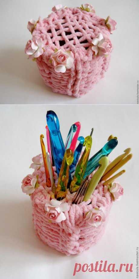 Подставка для крючков или спиц - Ярмарка Мастеров - ручная работа, handmade