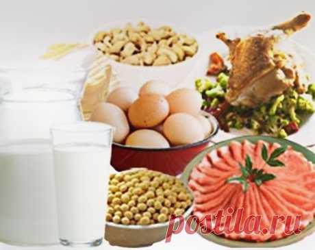 ТОП-10 белковых продуктов для фигуры