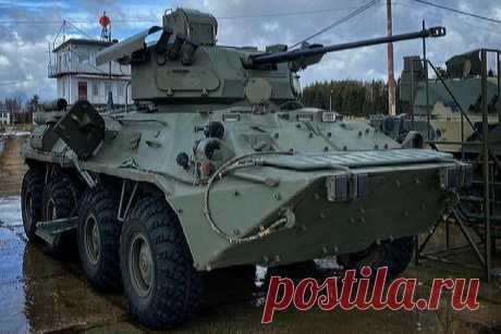 2021 апрель. «Военно-промышленная компания» представила новый боевой модуль БТР-БМ