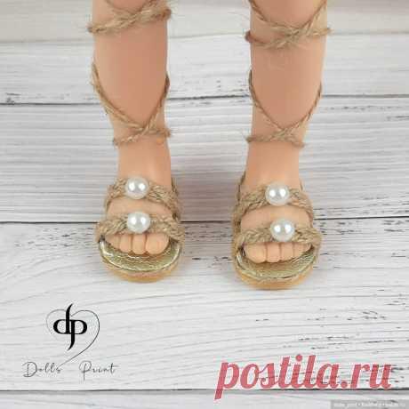 Мини-МК: Босоножки для Паолы / Обувь для кукол своими руками, выкройки / Бэйбики. Куклы фото. Одежда для кукол